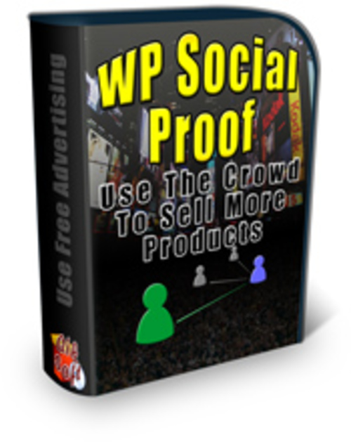 Product picture WP Social Proof With PLR